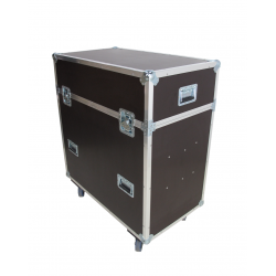 Flight Cases para 4 Pantallas Led
