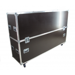 Flight cases para Pantalla de 84""
