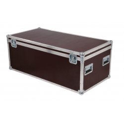 Flight cases para 8 LED PAR 64 Short
