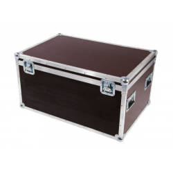 Flight cases para 6 LED PAR 64 Short