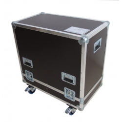 Flight cases para 2 altavoces EV ZLX 12