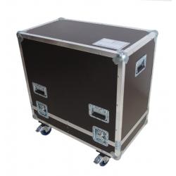 Flight cases para 2 altavoces EV ZLX 12P