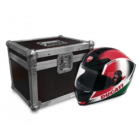 Flight cases para casco de moto