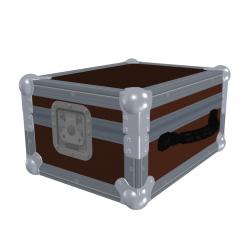 """Flight case para Mac Book Pro 13"""" + Scarlett 2i4 + Sennheiser HD25"""