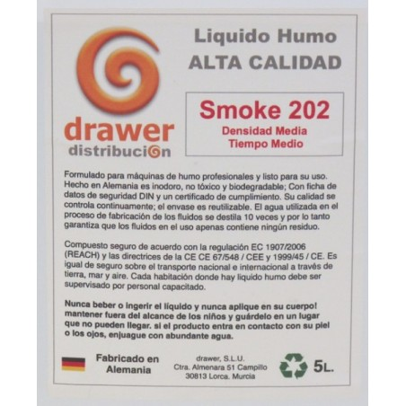 SMOKE 202 DENSIDAD MEDIA/TIEMPO MEDIO 5L.